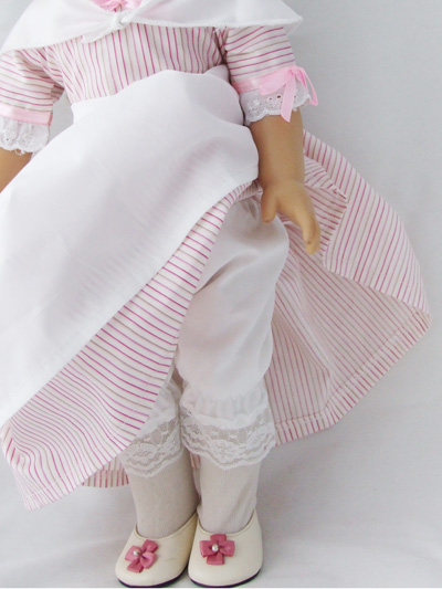Colonial Pink Striped Dress /