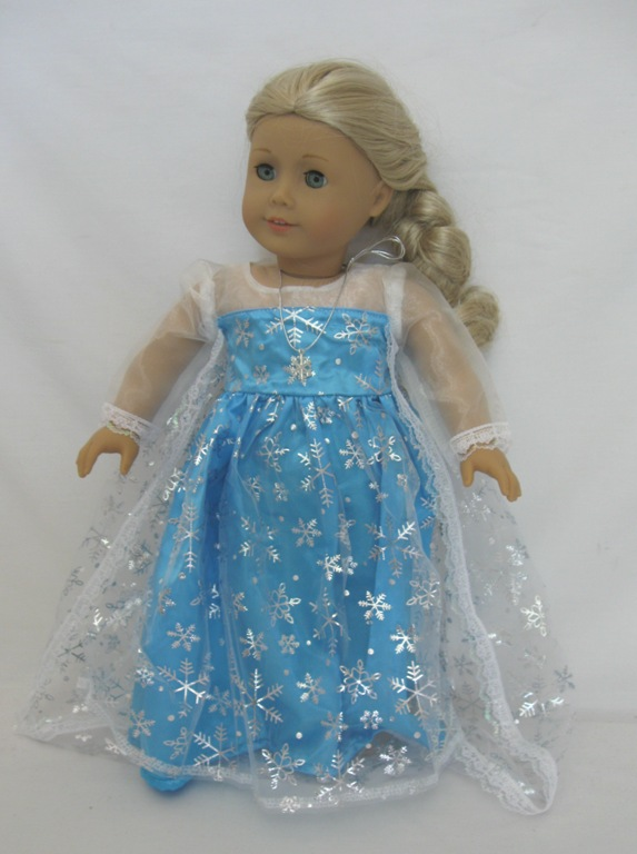 Box Of 125 Elsa Turquoise Dress