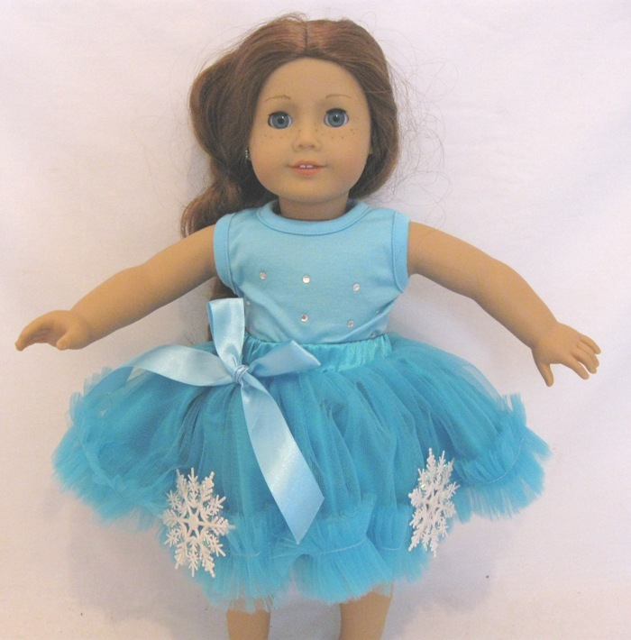 Box 0f 100 Frozen Snowflake RTulle Set
