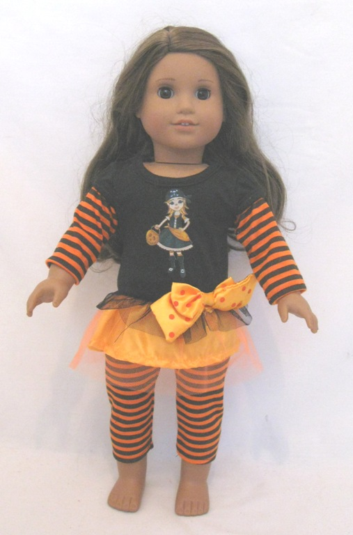 Box Of 160 Stripe Holloween Outfit