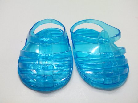 TURQUOISE JELLY SANDLE