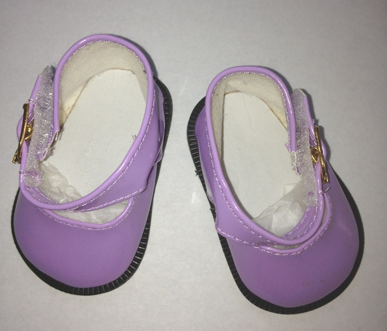 Purple Patent Mary Jane /