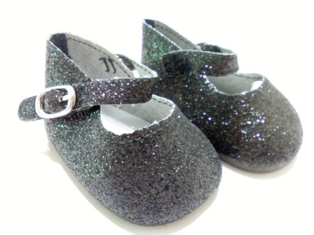 Black Sparkle Shoes /