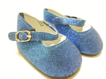 Blue Sparkle Shoes