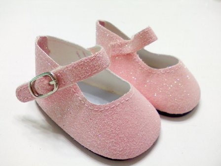 Pink Sparkle Shoes /
