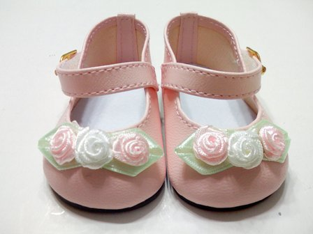 Pink Rose Toed Shoes/