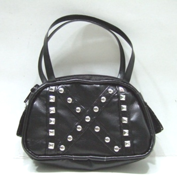 Black Studed Purse