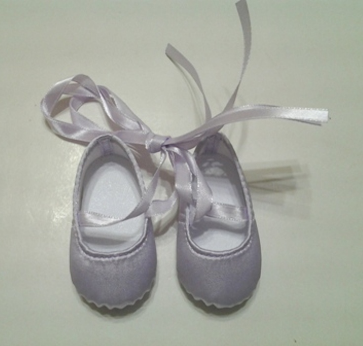 Lavender Hard Toe Ballerina Slippers