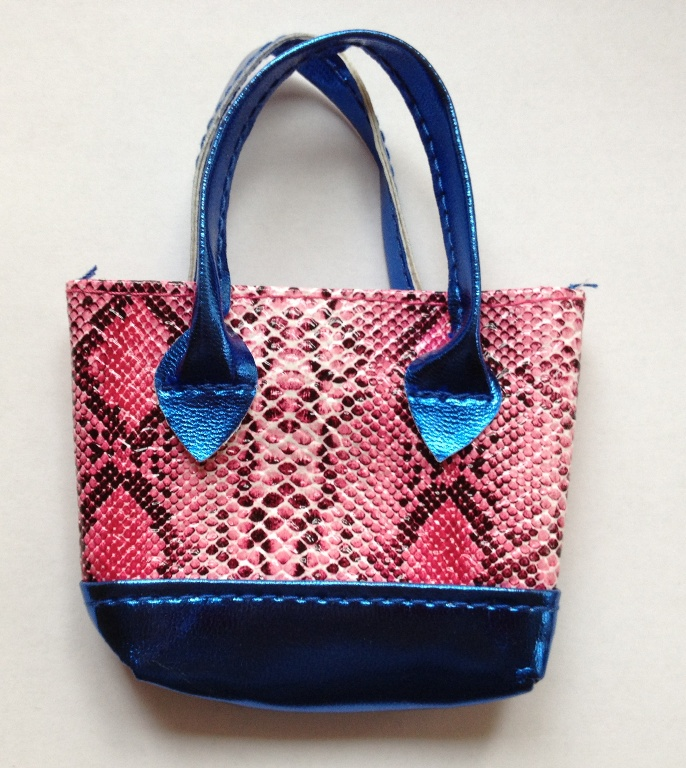 Pack Of 30 Pink Snakeskin Purse