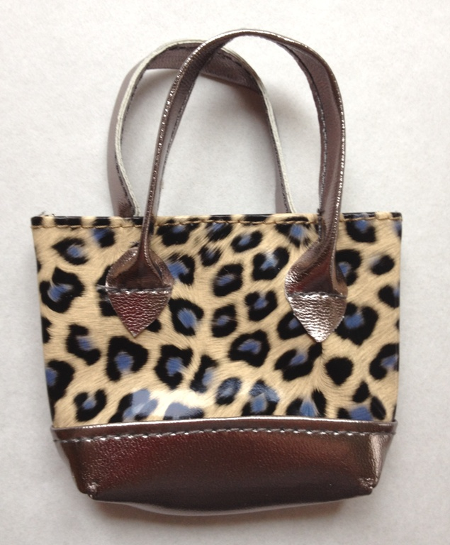 OFFER Pack Of 30 Brown Leopard Print Purse