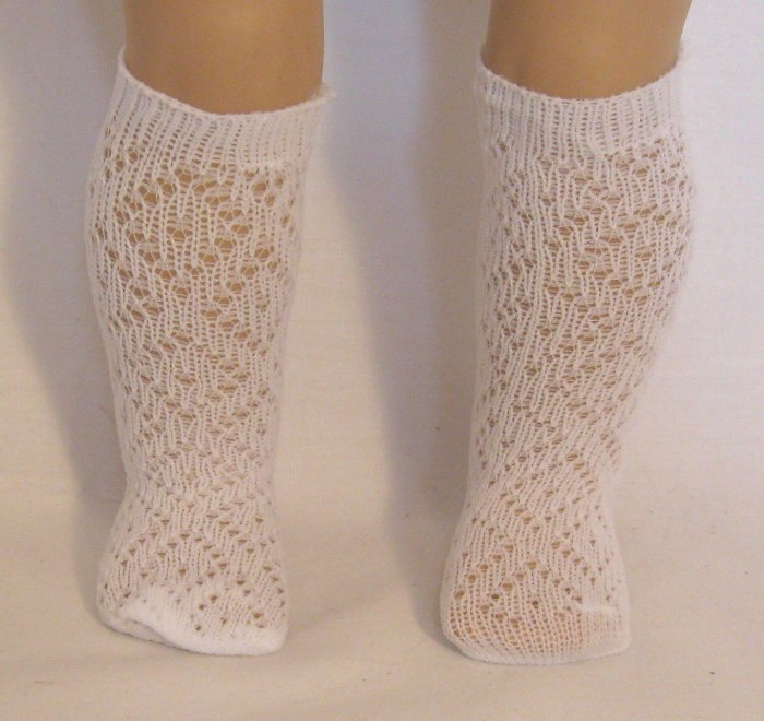 Diamond Pattern Stocking /