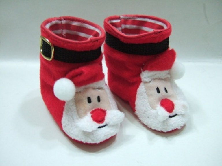 Santa Boot Slippers