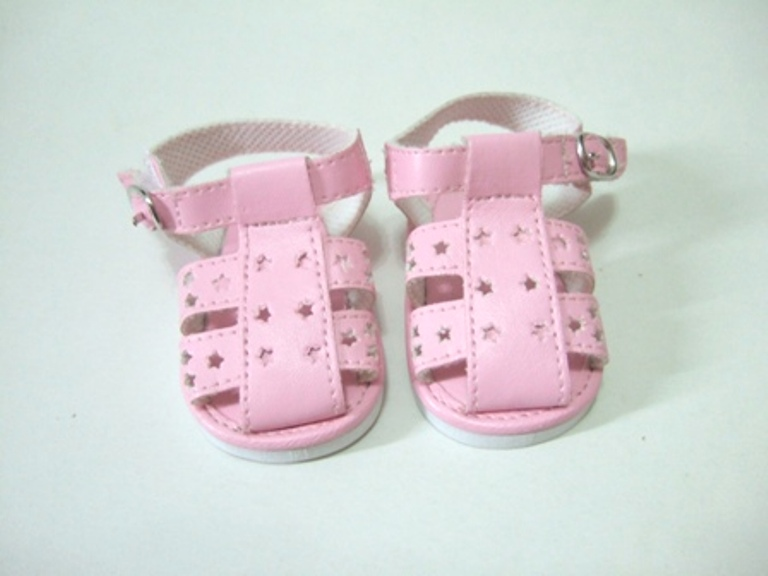 Pink Star Cut Fisherman's Sandles