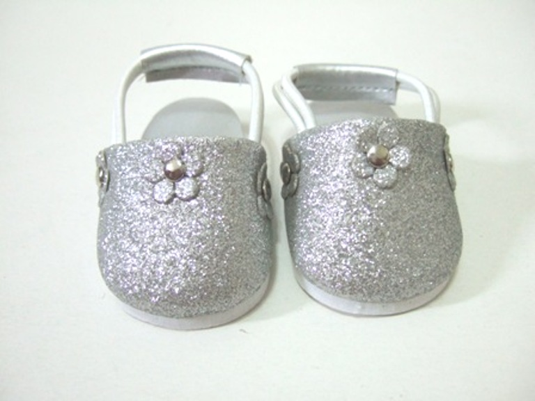 Silver BLING Clog