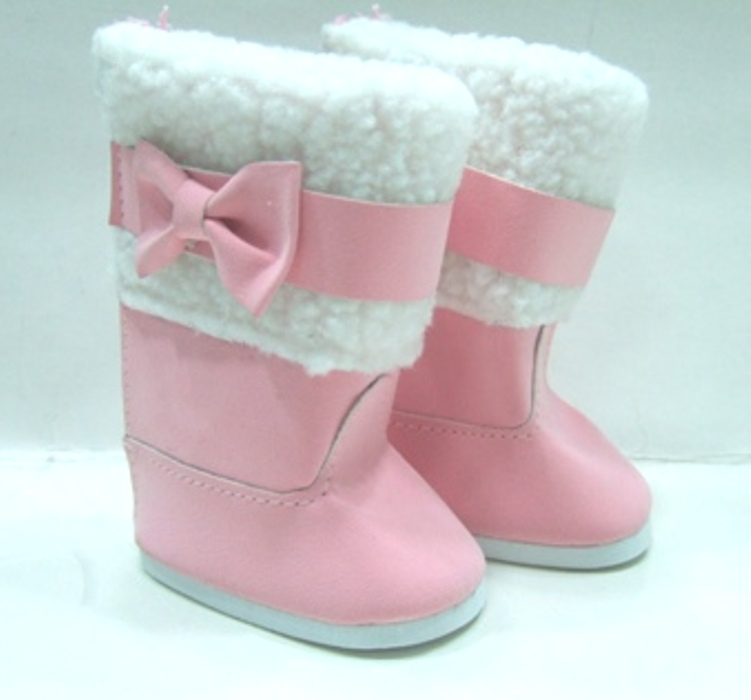 Pink Bow Boot
