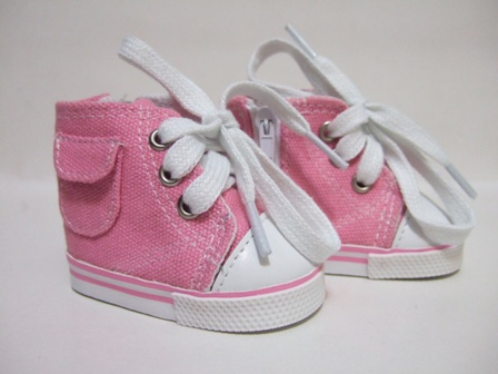 Pink Pocket Tennis Shoes