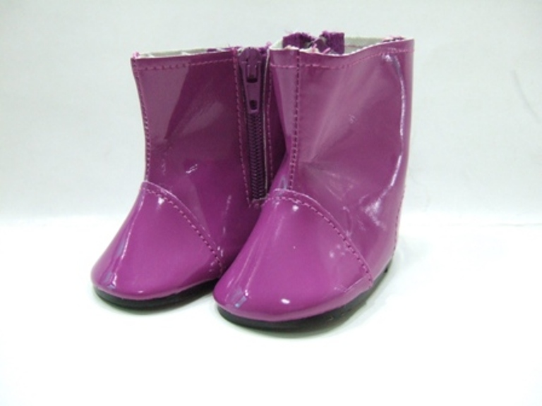 Purple Colored Rain Boots