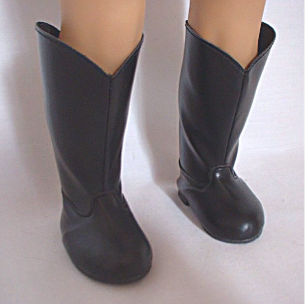 Black Riding Boot/