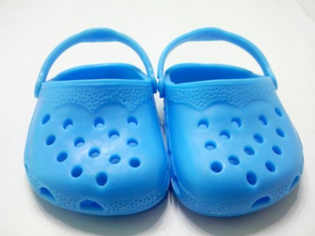 Blue Garden Clogs /