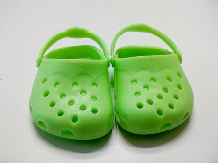 Green Garden Clogs /
