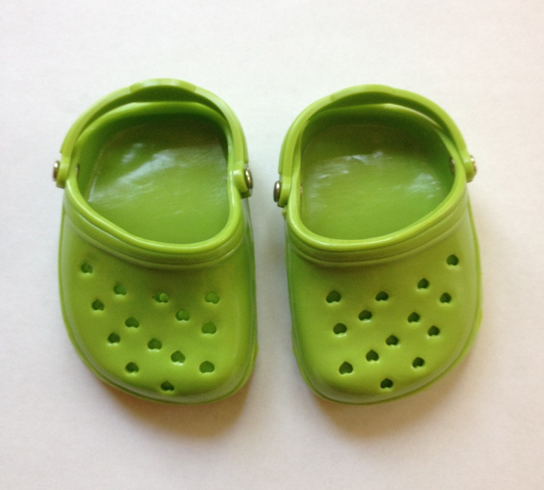 Avacado Green Garden Clogs