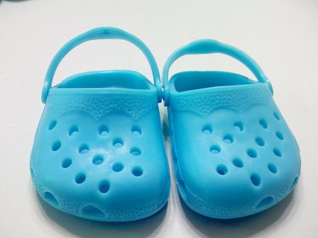 Turquoise Garden Clogs /
