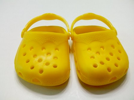Yellow Garden Clogs /