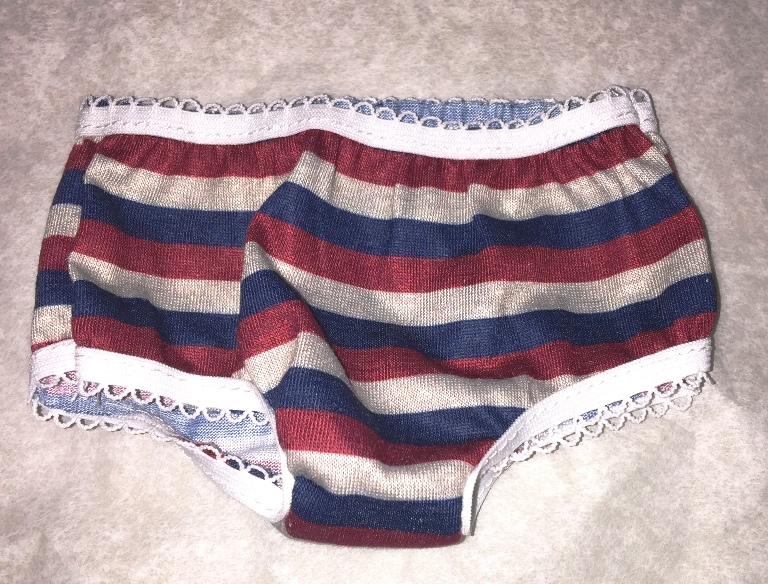 Dark Stripe Panties