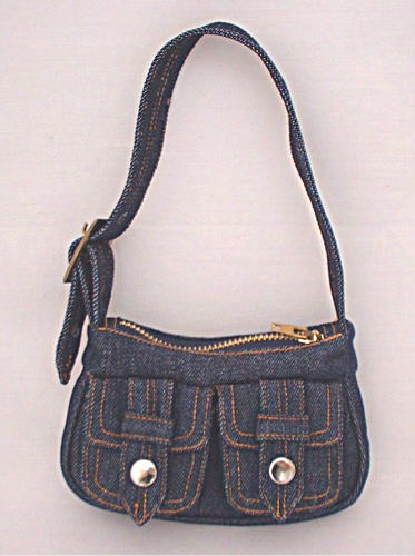 Denim Purse /
