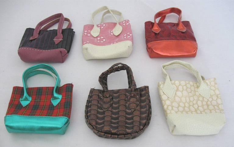 Doll Handbags Set of 12 assorted