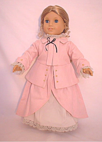 Rose Colonial Pink Ridding Outfit