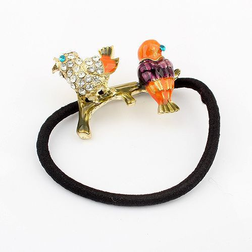 Double Love Bird Hair Band