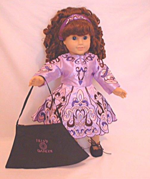 Lavender Irish Dance Dress /