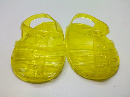 Yellow Jelly Sandle