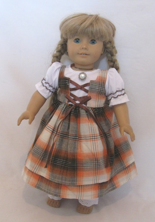 Plaid School Dress