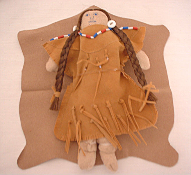 Indian Doll & Cradleboard