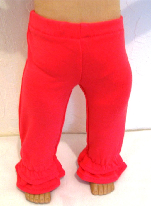 Hot Pink Ruffled Pants