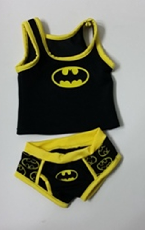 Bat Superhero Underwear Set