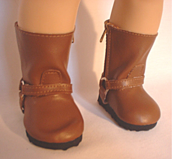 Brown Harness Boot /