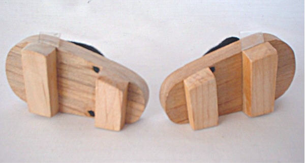 Wooden Japanese Sandal /