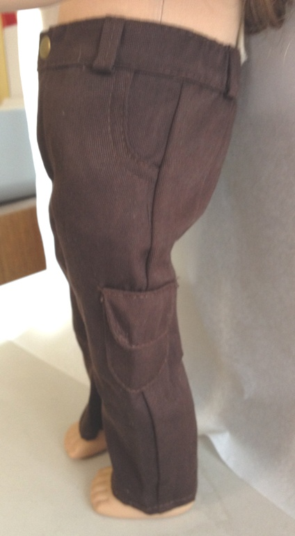 Brown Sports Weight Pocket Pants