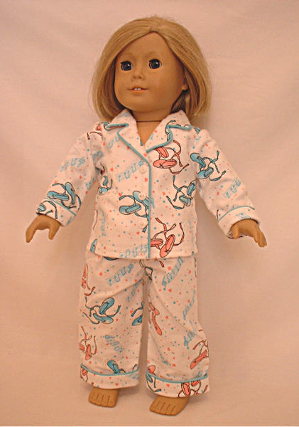 Ballerina Slipper Pajamas /