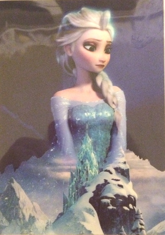 Queen Elsa Iron On