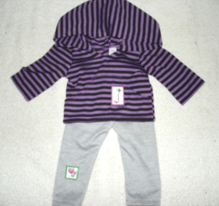 GIRL SCOUT JR HOODED SHIRT/LEGGING SET