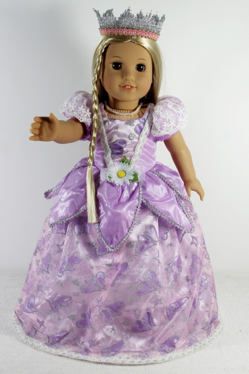Lavender Princess Dress