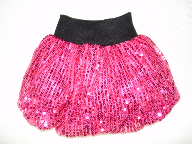 Hot Pink Bubble Skirt