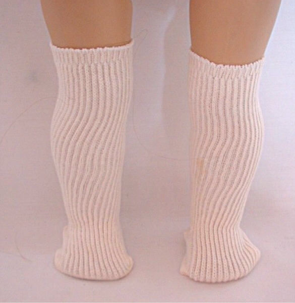 Cotton Ribbed Knee High Sock