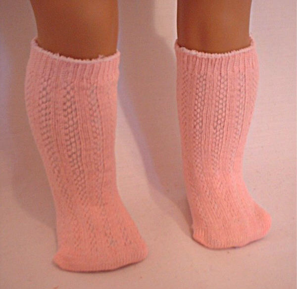 Pink Heavy Cotton Sock