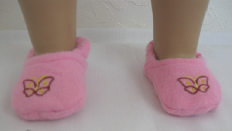 Pink Butterfly Slipper