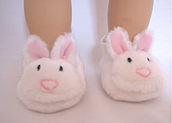 Plush Bunny Slippers/